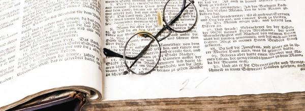 Lesezeichen im Buch des Lebens