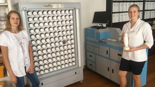 TCM-Mischmaschine in erster Apotheke im Einsatz