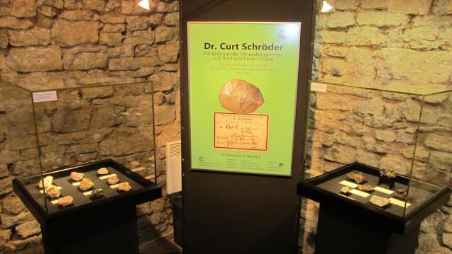 In Gera gibt es derzeit eine Mineralien-Sonderausstellung zu sehen. (Foto: Museum für Naturkunde Gera)