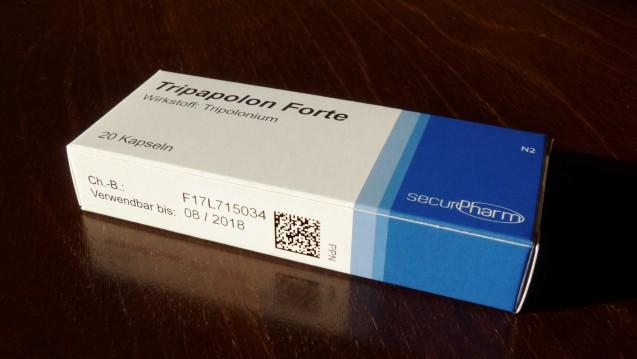 Noch sind längst nicht alle Arzneimittelpackung mit den neuen Sicherheitsmerkmalen ausgestattet. (Foto: Hömke)