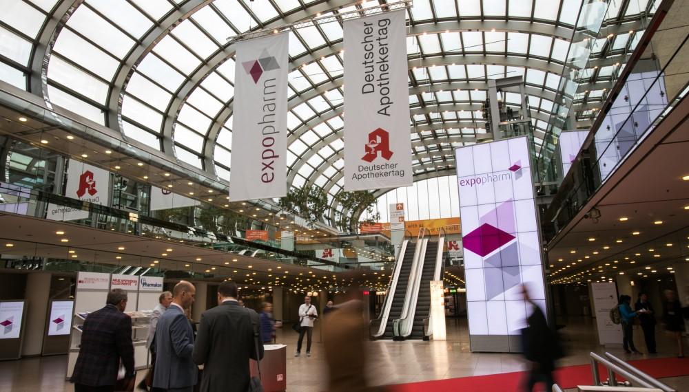 Willkommen bei Expopharm und DAT in Düsseldorf.