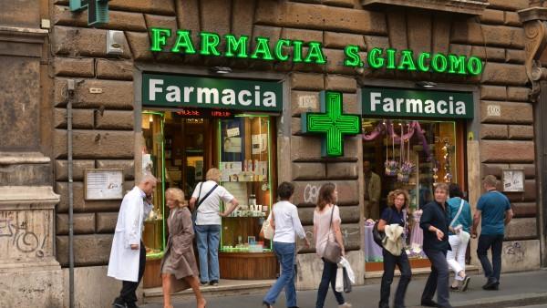 In Italien bricht das Apotheken Chaos aus – wieder einmal