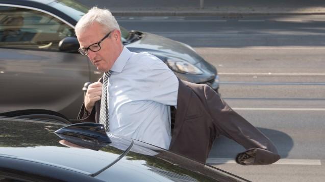 Auf dem Weg ins Ministerium? Der Ex-Chef der Arzneimittel-Abteilung im Bundesgesundheitsministerium, Guido Beermann, könnte Brandenburgs neuer Infrastrukturminister werden. (m / Foto: imago images / C. Spicker)