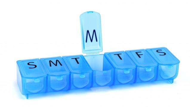 Ein Einnahmezeitpunkt am Tag: Single-Tablet-Regime machen es möglich. (Foto: nd700 / stock-adobe.com)
