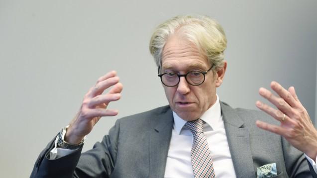Dr. Andreas Gassen ist Vorstandsvorsitzender der Kassenärztlichen Bundesvereinigung (KBV), die nichts von Spahns Apothekenplänen hält. (Foto: imago images / tagesspiegel)