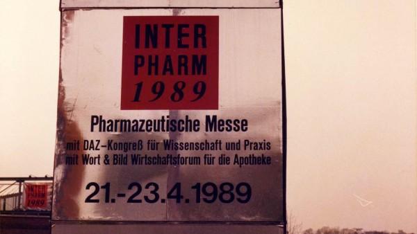 Interpharm 1989: Damals vor 30 Jahren