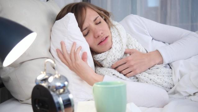 Die Zahl der Infektionen geht zwar zurück, aber die Grippe zwingt immer noch viele ins Bett. (Foto: Sven Vietense / Fotolia)