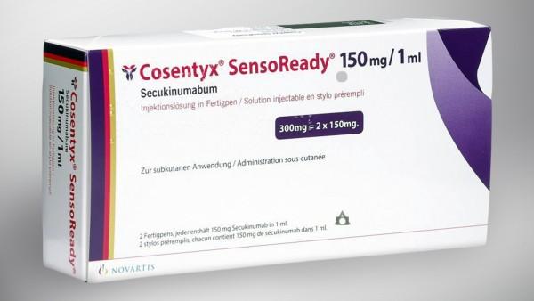 Novartis vergleicht Cosentyx mit Tremfya bei Plaque-Psoriasis