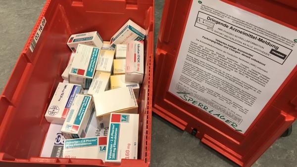 NDMA bei Stichproben in Valsartan-Tabletten nachgewiesen