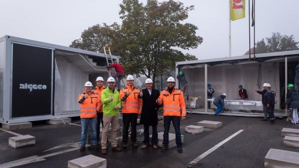 Erste Parkplatz-Apotheke eröffnet Ende November
