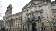 Vor dem Landgericht Berlin wurde heute ein früherer BMG-Beamter als Zeuge vernommen. (Foto: Külker)