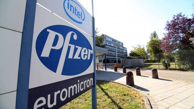 Beim bereinigten Ergebnis je Aktie erhofft sich Pfizer nun im besten Fall eine Stagnation, nachdem zuvor ein Rückgang erwartet worden war. (s / Foto: imago images / Jan Huebner)