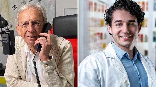 """Tamim Al-Marie (rechts) ist seit Januar Apotheker. Er hat sich allerdings nicht mit einer öffentlichen Apotheke selbstständig gemacht, sondern ein Start-up-Unternehmen """"immunkarte.de"""" in Leipzig gegründet. (c / Fotos: privat)"""