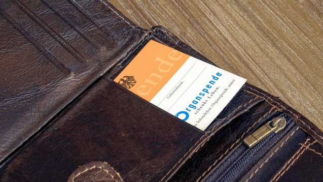 Laut einer Umfrage der Bundeszentrale für gesundheitliche Aufklärung (BZgA) für haben 36 Prozent der Bundesbürger einen Organspendeausweis. (Foto: Imago)