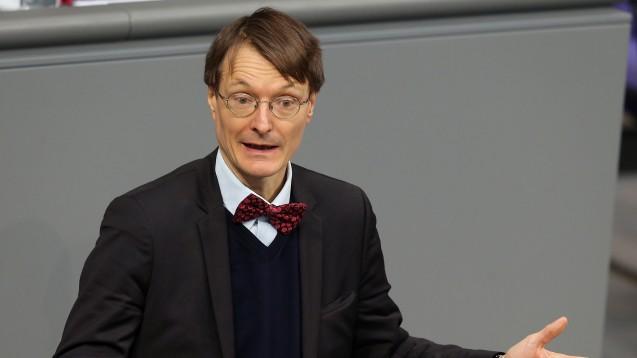 Der stellvertretende SPD-Fraktionsvorsitzende Karl Lauterbach will Anwendungsbeobachtungen einschränken. (Foto: dpa)