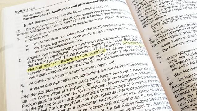 Eine Norm, die nicht nur viele Apotheken für nicht mehr zeitgmäß halten: die Importförderung in § 129 SGB V. (Foto: DAZ.online)