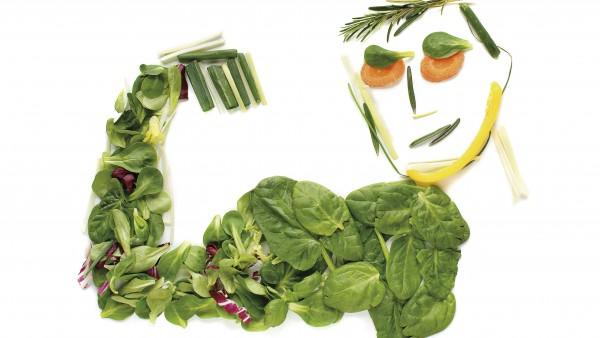 Spinat macht stark