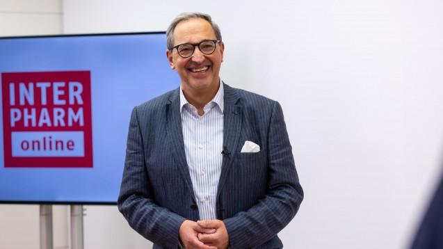 Professor Thomas Herdegen sprach bei der Interpharm online über Libidoverlust. (Foto: Schelbert)