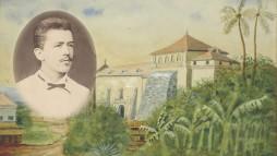 Heinrich Rothdauscher im Alter von 25 Jahren in Vigan,1877. (Nachlass Heinrich Rothdauscher)