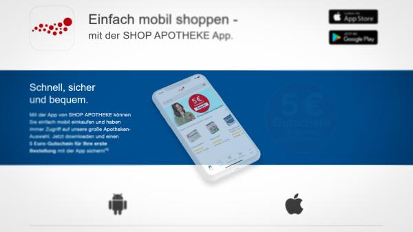 App der Shop Apotheke fällt im Test durch