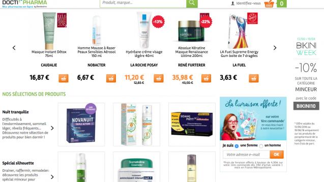 Kein Versand von Arzneimitteln mehr: Gericht schränkt Onlinehändler in Frankreich ein - dieser sei keine Apotheke. (Screenshot: DAZ.online)