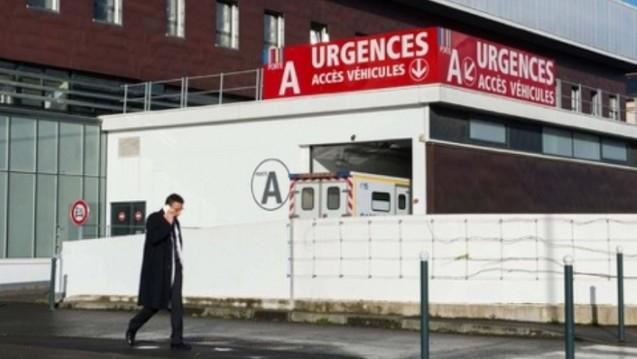 Das Universitätsklinikum in Rennes, wo die Probanden nach dem Zwischenfall behandelt wurden. (Foto: dpa)