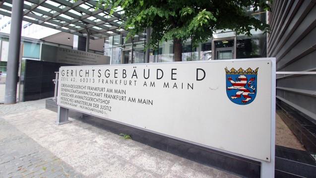 Die Zentralstelle zur Bekämpfung von Vermögensstraftaten und Korruption im Gesundheitswesen (ZBVKG) bei der Generalstaatsanwaltschaft Frankfurt am Main war die erste Schwerpunktstaatsanwaltschaft für Delikte aus dem Gesundheitswesen. ( r / Foto: Imago)