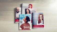 """Die Apothekergenossenschaft Noweda betont jetzt auch in der Kundenzeitschrift """"My Life"""" den Beitrag der Apotheken vor Ort zur Eindämmung der Corona-Pandemie. (c / Foto: Noweda)"""