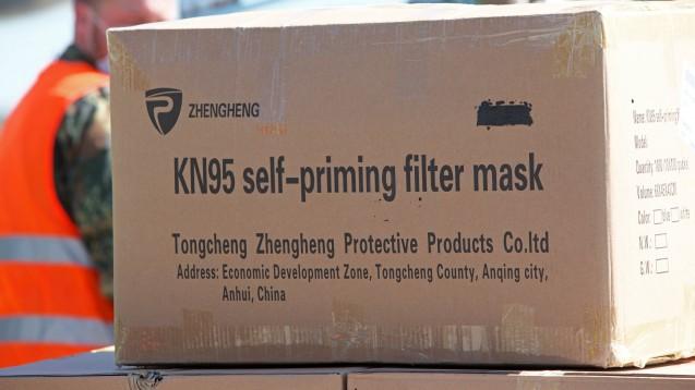 Auch viele Apotheker kaufen Schutzausrüstung wie Atemschutzmasken derzeit vermehrt direkt in China ein. Was muss dabei beachtet werden? (x/Foto: imago images / Trotzki)