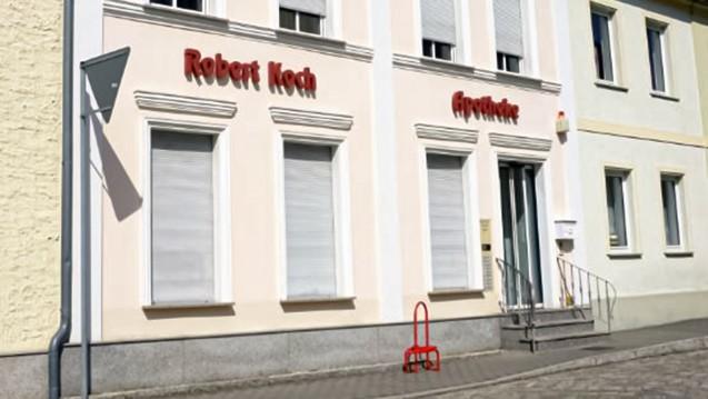 Die Schließung der Robert-Koch-Apotheke in Niemegk (Brandenburg) beschäftigt derzeit Behörden, die Landesapothekerkammer aber auch das Gesundheitsministerium. (Foto: Amt Niemegk)