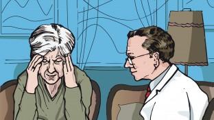 Eine Patientin mit Epilepsie