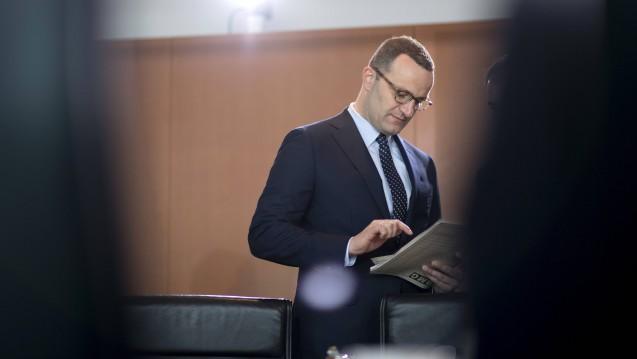 Das Bundeskabinett hat am heutigen Mittwoch das von Bundesgesundheitsminister Jens Spahn eingebrachte Digitale Versorgung-Gesetz beschlossen. (c / Foto: imago images / photothek)