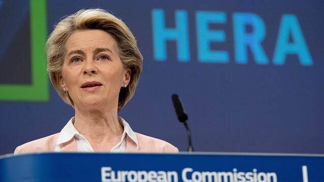 EU-Kommissionspräsidentin Ursula von der Leyen: Ihre Behörde hat vergangene Woche den Startschuss für die neue EU-Behörde für die Krisenvorsorge und -reaktion bei gesundheitlichen Notlagen gegeben. (x / Foto: IMAGO / Xinhua)