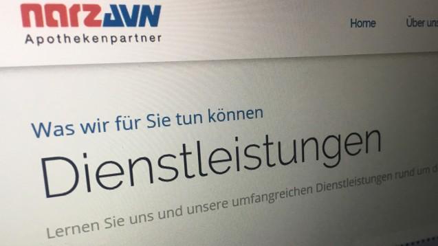 Stress beim Rechenzentrum NARZ/AVN: In der vergangenen Woche haben zwei von drei Geschäftsführern das Unternehmen verlassen. (s / Screenshot: DAZ.online)