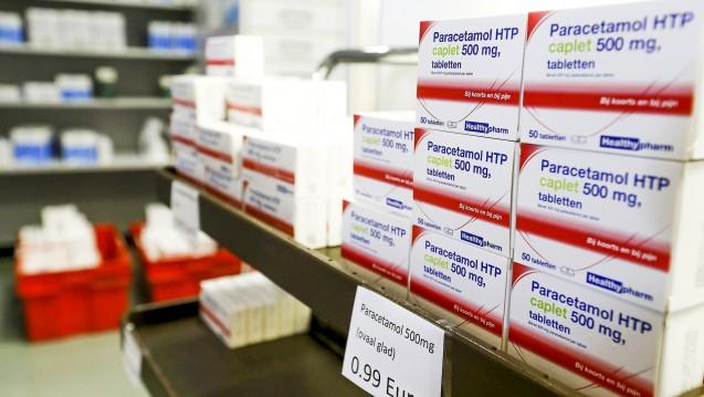 In Deutschland unterliegt Paracetamol ab 10 g pro Packung der Verschreibungspflicht. (Foto: dpa)