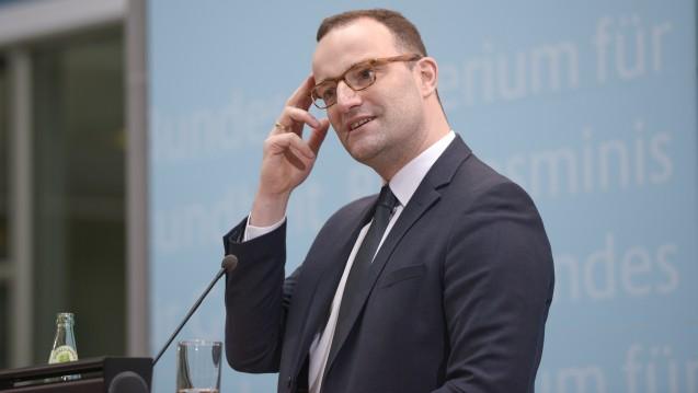 Bundesgesundheitsminister Jens Spahn hat mit dem GKV-Versichertenentlastungsgesetz sein erstes großes Gesetzesvorhaben vorgelegt. (Foto: Külker)