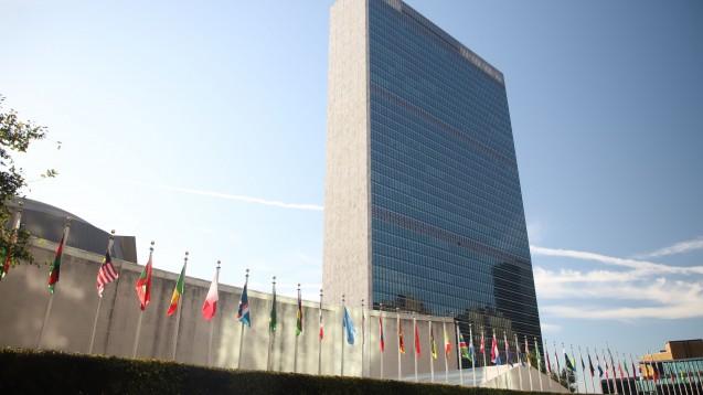 Noventi-Vorstand Dr. Sven Jansen soll bei den Vereinten Nationen in New York im Rahmen des UN-Klimagipfels 2019 die Nachhaltigkeitsstrategie von Noventi präsentieren. (m / Foto: imago images / ZUMA Press)