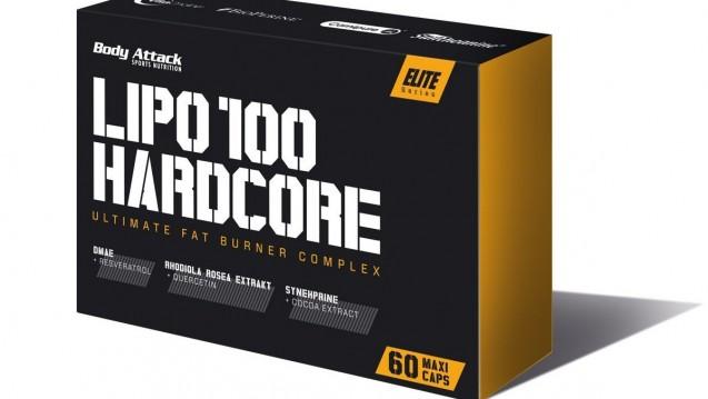 Lipo 100 Hardcore enthält zuviel Coffein, sagt das BfR. (Foto: Screenshot / DAZ)