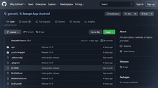 Das GitHub-Repository der E-Rezept-App (Android). (c / Screenshot: GitHub - gematik / DAZ)