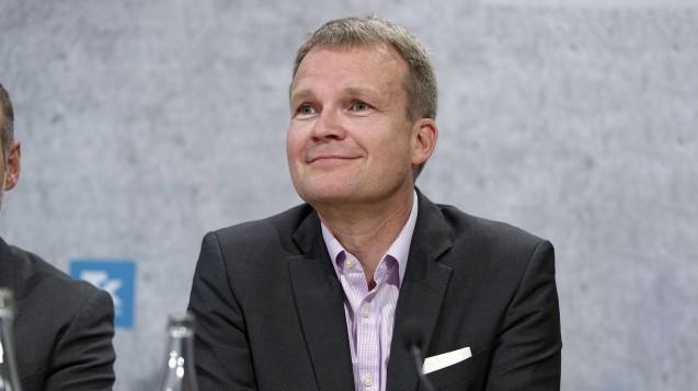 TK-Chef Jens Baas hgat sich erneut über den Verteilungsmechanismus im Gesundheitsfonds beschwert und verlangt, dass die Ausschüttungen regionalisiert werden müssten. ( r / Foto: Imago)