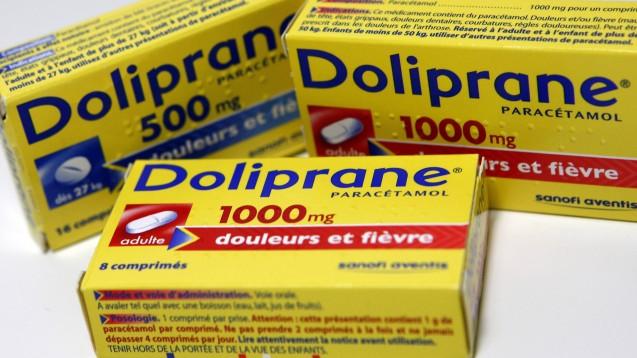 In Frankreich warnt eine Box auf Paracetamol-Packungen künftig vor Leberschäden bei Überdosierung. (s / Foto: imago images / IP3press)