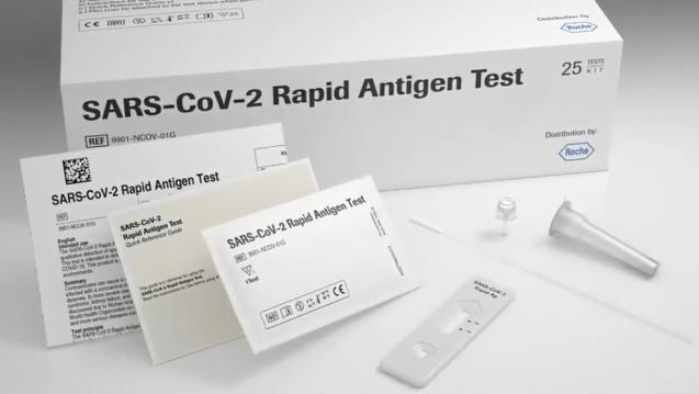 Als Schwäche der Studie räumen die Wissenschaftler ein, keine Viruskultur zum Nachweis replikationsfähiger Viren angelegt zu haben – denn auch ohne Replikationsfähigkeit sind PCR positiv.(Foto: Screenshot Roche)