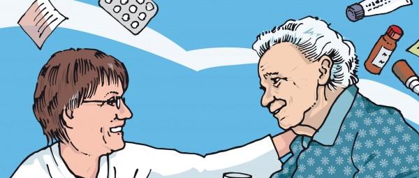 Ein Patient mit bipolarer Störung