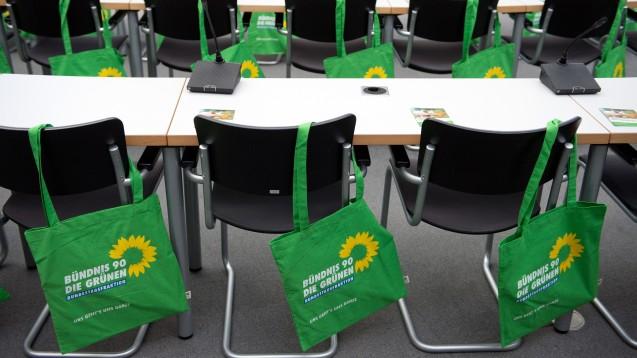 Grüne Stimmen: Die Bundestagsfraktion der Grünen will sich dafür aussprechen, dass Ärzte in besonderen Fällen Internet-Rezepte ausstellen dürfen. (Foto: dpa)