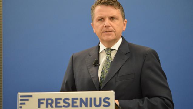 Laut Fresenius-Chef Stephan Sturm waren die Vorwürfe gegen Akorn bei der Prüfung der Übernahme nicht bekannt gewesen (Foto: Fresenius)