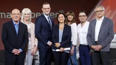 """Bundesgesundheitsminister Jens Spahn (CDU) musste sich in der TV-Sendung """"Maischberger"""" für seine ehemalige Beteiligung an der Lobbyagentur Politas verteidigen. (Foto: Imago)"""