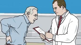 Ein Patient mit Multiplem Myelom