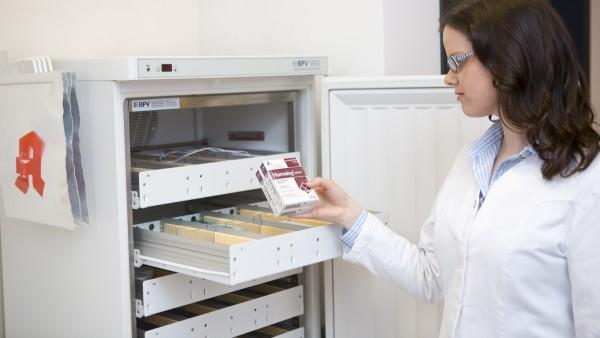 Fast 28 Millionen Arzneimittel aus dem Kühlschrank