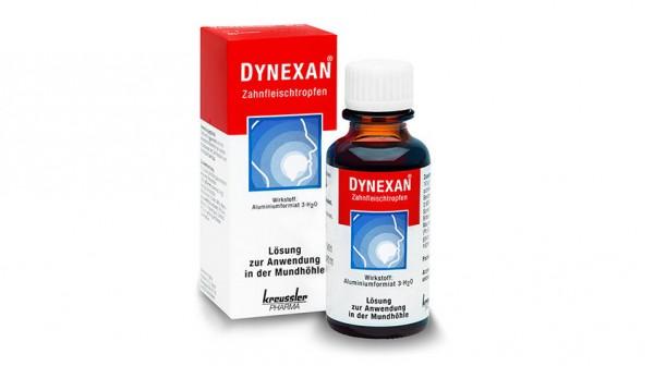 Zu wenig Wirkstoff in Dynexan Zahnfleischtropfen