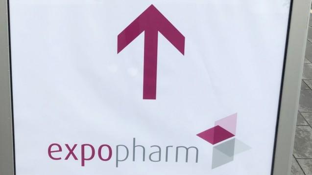In Düsseldorf läuft seit dem heutigen Mittwochmorgen die Expopharm 2019. (Foto: DAZ.online)